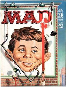 Mad    #50    FINE+   October 1959   EC    See photos