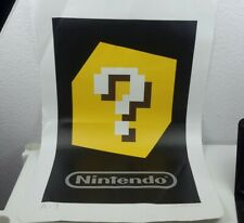 "Club Nintendo Giant Nintendo 3DS AR Card 28.5"" X 18.25"" Jumbo Mii Mat"
