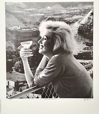 "Marilyn Monroe lithograph, signed and numbered, George Barris, ""Malibu"""