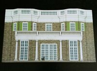 Cats Meow Village ELEANOR ROOSEVELTs HOUSE Hyde Park NY 1995 Collectors Club Ed