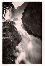 route du pont d'espagne  cascade du pas de l'ours,le déversoir