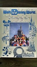 Disney World 20 Magical Years Collectible Book