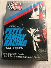 Nib 1991 Pro Set Offiial Petty Family Racing Collection 50 Trading Cards Sealed