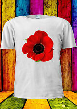Remembrance Day Poppy Lest We Forget T-shirt Vest Tank Top Men Women Unisex 1423