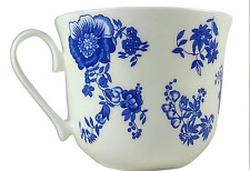 ROY KIRKHAM Breakfast Tea Cup Blue Victoriana Fine China England Tableware GIFT