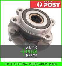 Fits TOYOTA ESTIMA HYBRID AHR20 Front Wheel Bearing Hub