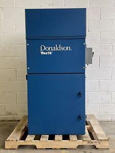 DONALDSON TORIT DUST COLLECTOR CABINET 84 MANUAL SHAKER BAR 3HP