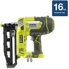 Home Power Tool Electric 18V AirStrike 16Gauge Cordless Straight Air Nailer New