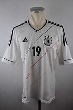 Deutschland Trikot 2012 Gr. L #19 Götze Adidas Weiß EM Jersey Home DFB Germany