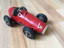Vintage Red Schuco Grand Prix Racer 1070 Car clockwork tin plate toy - German