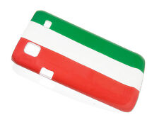Custodia pvc cover case SAMSUNG i9000 GALAXY S i9001 GALAXY S PLUS flag ITALIA