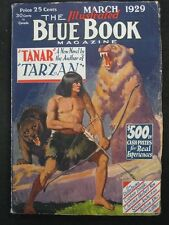 "Blue Book - Ultra High Grade Set of Burroughs - ""Tanar of Pellucidar"""