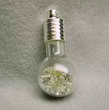 5+Cts White Raw Uncut Natural ROUGH DIAMONDS Pendant