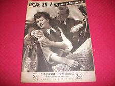 627 Hörzu 03.07.1949 Nr. 28 Renate Densow Heinz Wieck Magda Schneider