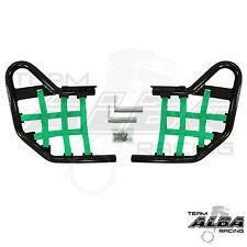 Yamaha Raptor 660  YFM660  Nerf Bars   Alba Racing  Black Green 203 T1 BG