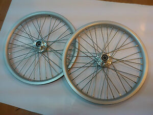 "Strida 18"" wheel set - silver"