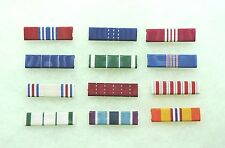 US Agency, Department of the Army Civilian Medal ribbons, set of 12