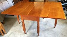 Antique Solid Cherry Drop Leaf Gate Leg Dining/Kitchen Table 1800's