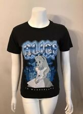 NWT Disney Alice In Wonderland Hot Topic Black T-Shirt Size S