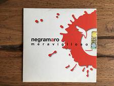 """NEGRAMARO """"Merviglioso"""" (2008) cd singolo promozionale. RARO! COME NUOVO."""