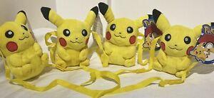 Pokemon pikachu plush Teddy Bag