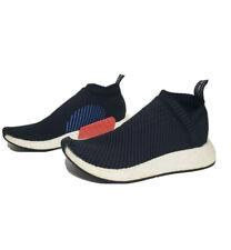 Adidas NMD CS2 PK Core Black Blue Red Primeknit CQ2372 Size 8
