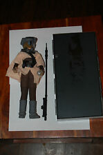 "Leia Boushh 12"" w/ Han Carbonite-Hasbro-1/6-Star Wars-Customize Side Show"