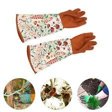Gardening Gloves Long Sleeve Yard Rose Florist Pro Thorn Resistant for Women's