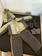 American Girl Retired Downhill Ski Outfit & Accessories Lot!