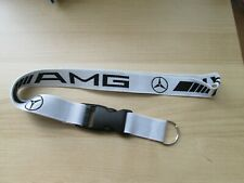 MERCEDES AMG SL G S G CLASS SL S550 KEY RING LANYARD NECKLACE BADGE HOLDER CLIP