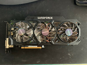 Gigabyte GeForce GTX 760 OC Windforce 3X 4GB GPU