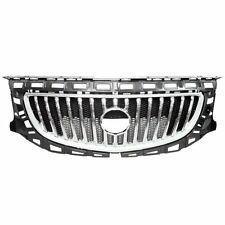 fits 2011-2013 BUICK REGAL Front Bumper Grille Chrome & Black 20977844 22880027