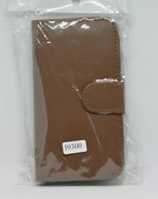 Samsung galaxy S III leather flip case/wallet (19300) Brown