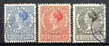 Nederland  163 - 165 A gebruikt (3)