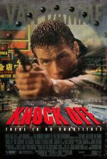 KNOCK OFF - 27x40 D/S Original Movie Poster One Sheet Jean-Claude Van Damme