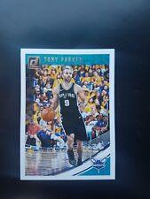 2018-19 Donruss Basketball #48 Tony Parker Charlotte Hornets