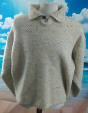 Aran Sweater Market, Ireland™ men's cream pure new wool jumper ***26w 26l XXL***