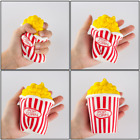Super Squishy Jumbo Soft rainbow Popcorn Cup Slow Rising Scented Strap Kid Toys
