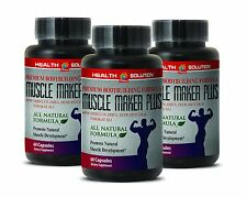 Octacosanol - MUSCLE MAKER PLUS - Sexual Health - Lean Muscle - 3Bot 180Ct