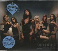 PUSSYCAT DOLLS Buttons 2 TRACK CD NEW - NOT SEALED