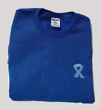 Colon Ovarian Cancer Sweatshirt Ribbon 3XL Royal Blue Crew Neck Unisex New