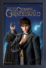 FANTASTIC BEASTS CRIMES OF GRINDELWALD NEWT DUMBLEDORE 13x19 FRAME GEL POSTER!!!