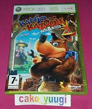 BANJO KAZOOIE NUTS AND BOLTS XBOX 360 TRES BON ETAT VERSION 100% UK