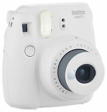 Fujifilm Instax Mini 9 Smokey White Instant Camera | Fuji Polaroid Film Camera