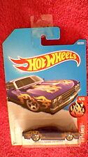 Hot Wheels - US Card - #182 '69 Ford Torino Talladega - Metallic Purple