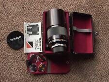 Tamron SP 500/8 Tele-Macro Catadioptric lens 55B adapt f/ Sony Canon Nikon CASED