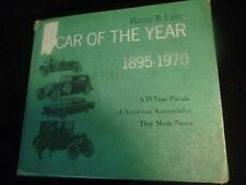 "BOOK  ""CAR OF THE YEAR 1895-1970"" BY HARRY B LENT"