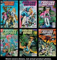 Relative Heroes 1 2 3 4 5 6 Complete Set Run Lot 1-6 VF/NM