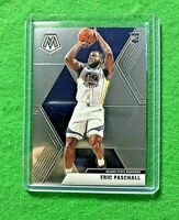 ERIC PASCHALL SILVER CHROME ROOKIE CARD GOLDEN STATE WARRIORS 2019-20 MOSAIC RC
