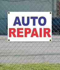 2x3 AUTO REPAIR Red White & Blue Banner Sign NEW Discount Size & Price